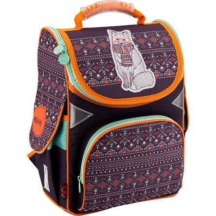 Рюкзак школьный GoPack GO18-5001S-4 каркасный, фото 2
