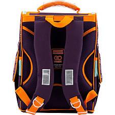 Рюкзак школьный GoPack GO18-5001S-4 каркасный, фото 3
