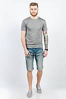 Шорты мужские джинсовые 226KF003-1 (Темно-синий)