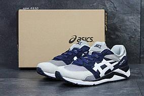 Asics Gel-Lique темно синие с белым