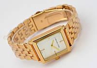 Часы женские Michael Kors прямоугольны, цвет золото 585