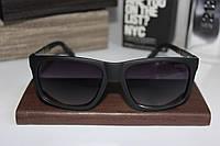 Мужские солнцезащитные очки Гуччи Gucci черные матовые