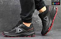 Кроссовки беговые Reebok OSR Harmony Road GTX, материал - текстиль, черные с красным