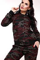 Стильный женский спортивный костюм Милитари