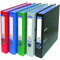 E30724-10 Папка-регистратор А5 8 см серая