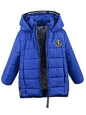 Детская демисезонная куртка на девочку в расцветках, р.98-116, фото 2