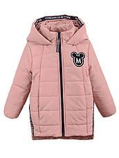 Детская демисезонная куртка на девочку в расцветках, р.98-116, фото 3