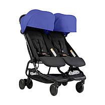 Детская коляска 2 в 1 для двойни Mountain Buggy Nano Duo, фото 3