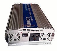 Автомобильный инвертор 12-220В DC. 2000W, фото 1