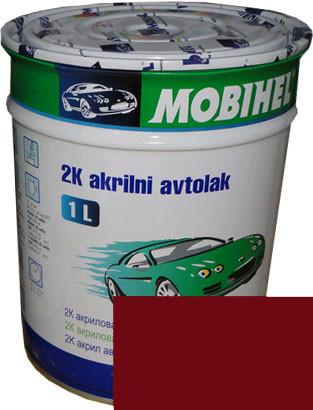 """Автокраска 182 Эмаль акриловая Helios Mobihel """"Романс"""" 1л без отвердителя"""