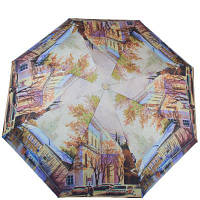 Зонт женский механический компактный облегченный  magic rain (МЭДЖИК РЕЙН) zmr51224-3