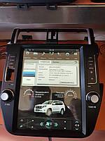 Штатная магнитола Toyota LC Prado 150 (2012-2017) Tesla Style