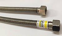 Гибкий гофрированный шланг для газа из нержавеющей стали ECO-FLEX 2м Ду15