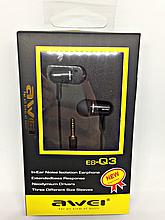 Наушники Awei ES-Q3