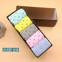 Носки набор Your Present Box женские - средние - горшек (5 пар)