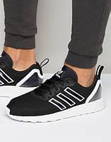 Мужские черные кроссовки Adidas Originals ZX Flux ADV стелька 29,5 см