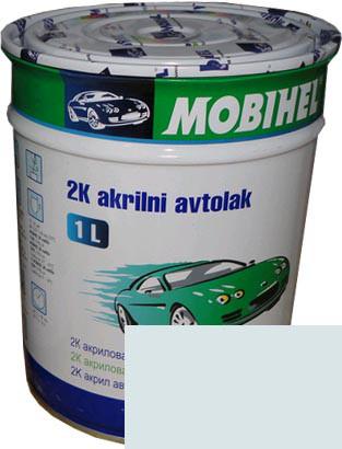 """Автокраска 202 Эмаль акриловая Helios Mobihel """"Снежно-белая"""" 1л без отвердителя"""