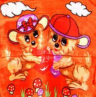 Детский плед - одеяло Sino Olym - 90*110 - Разные цвета
