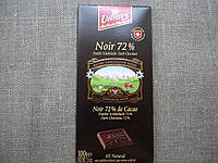 """Черный шоколад, 72% """"ТМ Villars"""" 100г., фото 1"""