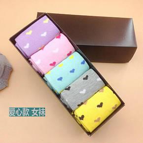 Носки Your Present Box женские - высокие - сердце, фото 2