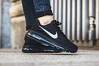 Кроссовки Мужские Nike Air Max 2017 (Black / White - Anthracite)