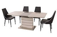 Современный обеденный стол ТМ-50-1(капучино-латте)
