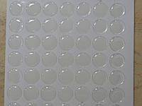 Эпоксидная наклейка круглая 2,5 см