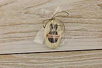 Шоколадный пасхальный декор Т-9 Размер:30х50мм,h=2мм,вес 4,43гр, фото 1