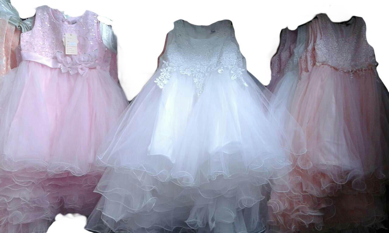 Платье нарядное для девочек, размеры 4-14 лет, арт. 2710