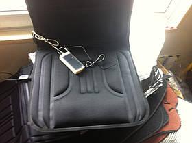 Накидка на сиденье с подогревом + 5 массаж. (1шт) Сток