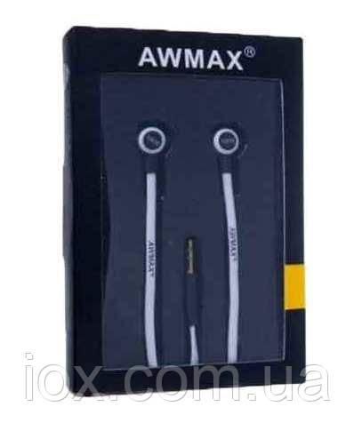 Вставные наушники вкладыши Awmax J-4 черные