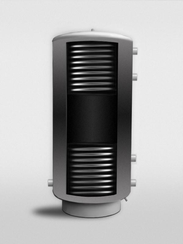 Теплоаккумулятор (буферная емкость) PlusTerm TB с двумя теплообменниками