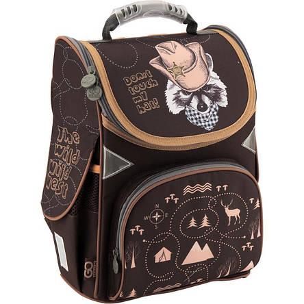 Рюкзак школьный GoPack GO18-5001S-12 каркасный, фото 2