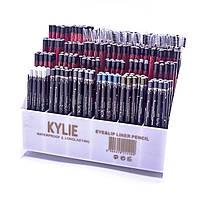 Набор карандашей Kylie waterproof longlasting eye&lip liner pencil  24 шт