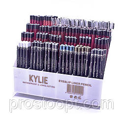 Набор карандашей Kylie waterproof longlasting liner pencil 24 шт