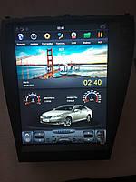 Штатная магнитола Lexus ES350 Tesla style