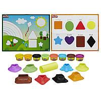 Кинетический песок Play-Doh Shape и Learn Colors and Shapes