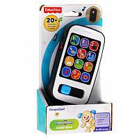 Детский телефон на русском, Умный смартфон, Интерактивная развивающая игрушка, Fisher-Price CDF61