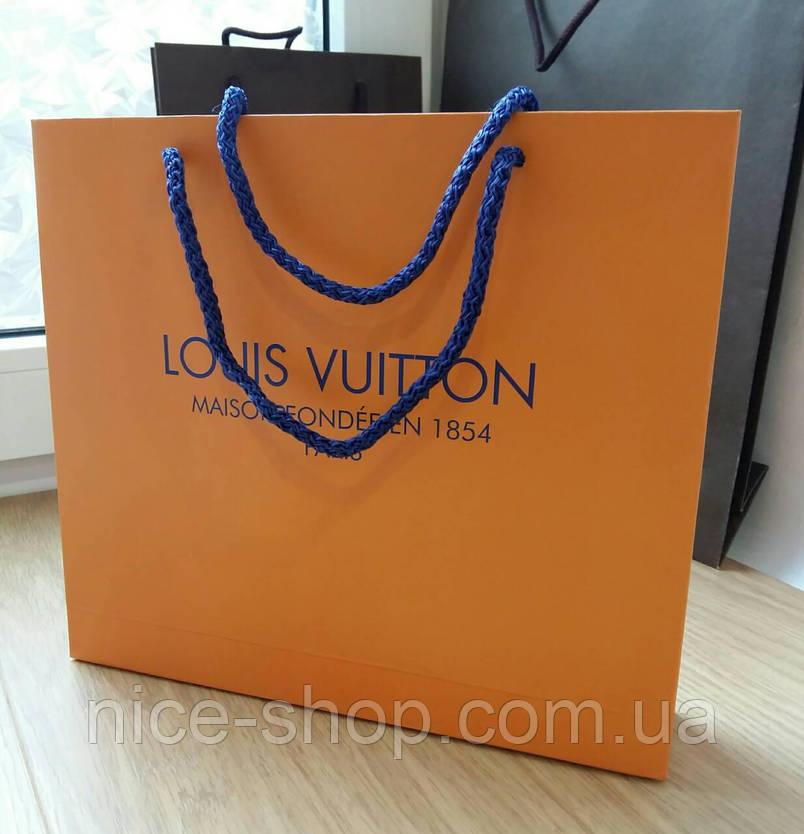 Подарочный пакет Louis Vuitton, горизонт,mini, фото 2