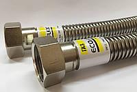 Гибкий гофрированный шланг для газа из нержавеющей стали ECO-FLEX 1м Ду20