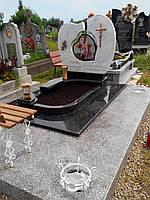 Детский мраморный памятник Сердце № 39