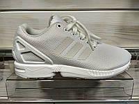Оригинальные женские кроссовки Adidas ZX Flux S79093 white , фото 1