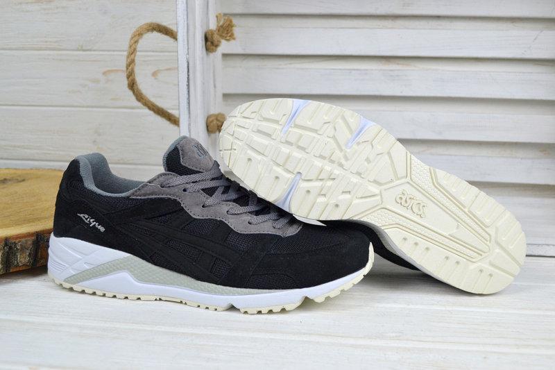 Мужские кроссовки Asics Gel- Lique черные на белой подошве - Интернет  магазин krossovkiweb.kiev 5a200216d8d