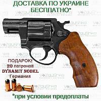 Револьвер ME 38 Pocket 4R черный деревянная рукоять