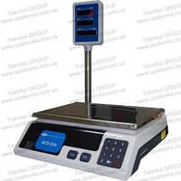 Весы электронные с двусторонним дисплеем ACS-15A RS 232