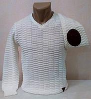 Пуловер мужской вязаный демисезонный р.M, L