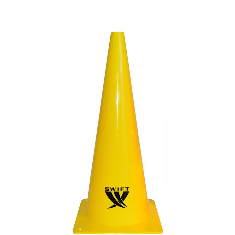 Конус тренировочный SWIFT Traing cone, 38 см (желтый)