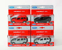 Машина металева CHEVROLET NIVA WELLY 1:34-39 42379W в кор. 14,5*6*12 см