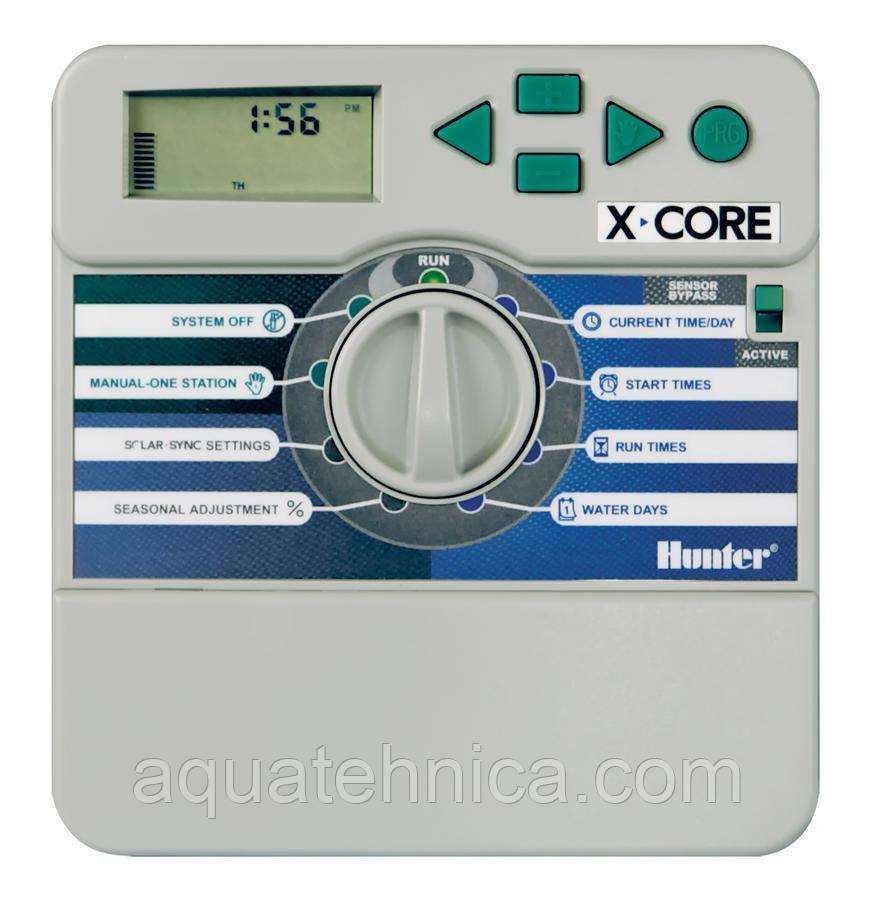 Контролер для управления автополивом Hunter X-Core  8 зон - внутренний