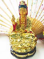 Статуэтка Гуан Инь позолота
